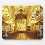 Catedral de St. Louis (interior), New Orleans, LA Alfombrillas De Raton