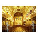 Catedral de St. Louis (interior), New Orleans, LA Postal