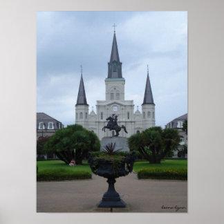 Catedral de St. Louis, New Orleans Póster