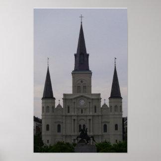 Catedral de St. Louis Póster