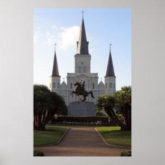 Catedral de St. Louis, poster de New Orleans