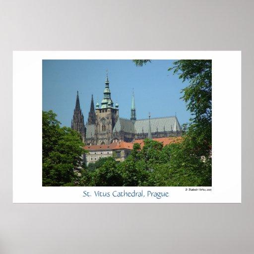 Catedral de St. Vitus Posters
