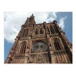 Catedral de Strassburg Tarjeta Postal