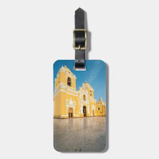 Catedral de Trujillo, Trujillo, Perú Etiqueta De Equipaje