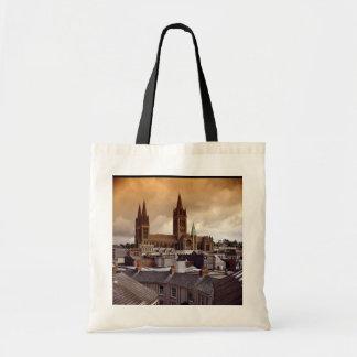 Catedral de Truro, Cornualles, Inglaterra Bolsa Lienzo
