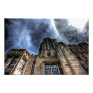 Catedral del aprendizaje, universidad de Pittsburg Fotografias