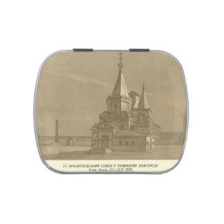 Catedral del arcángel de Taras Shevchenko- en Nizh Jarrones De Dulces