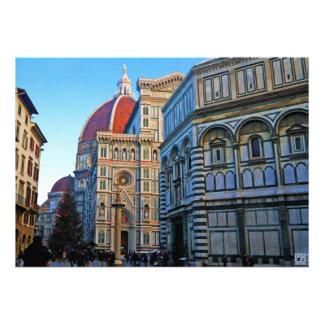 Catedral del Duomo de Florencia con cita del amor Anuncios Personalizados