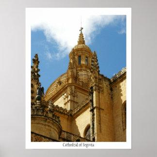 Catedral del poster de Segovia