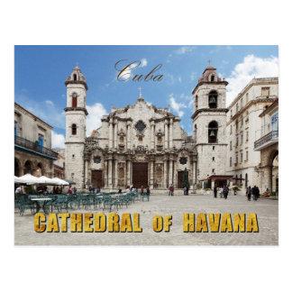 Catedral del siglo XVIII de La Habana, La Habana,  Tarjetas Postales