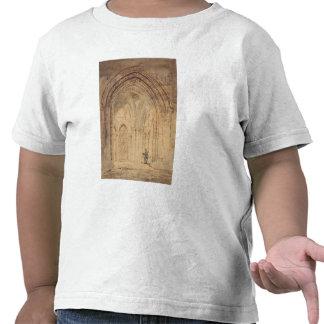 Catedral del St. Alban, Hertfordshire, c.1797 Camiseta