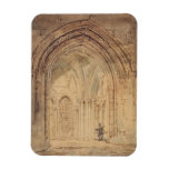 Catedral del St. Alban, Hertfordshire, c.1797 (w/c Imán De Vinilo