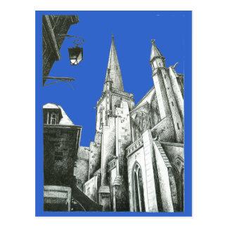 Catedral del St. Malo Postales