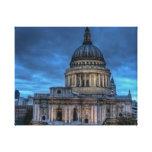 Catedral del St Pauls Lona Envuelta Para Galerías
