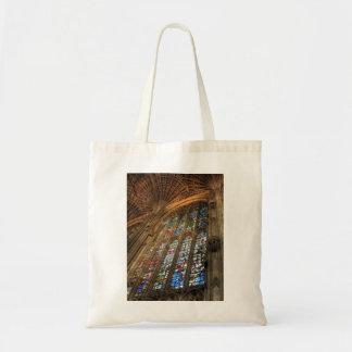 Catedral del vitral bolsas de mano