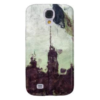 Catedral en el Zocalo del DF con la Bandera 3 Galaxy S4 Case