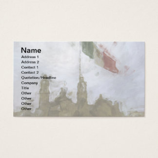 Catedral en el Zocalo del DF con la Bandera 5.jpg Business Card