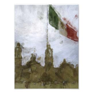 Catedral en el Zocalo del DF con la Bandera 5.jpg Photo