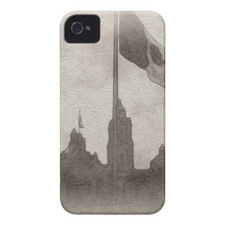 Catedral en el Zocalo del DF con la Bandera 6 iPhone 4 Cover