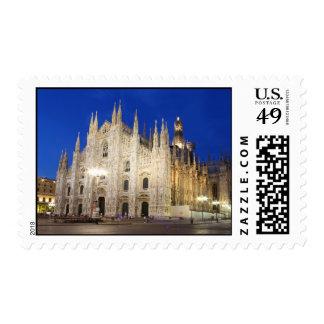 Catedral en Milano Estampilla