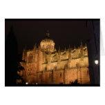Catedral en Salamanca Tarjeton