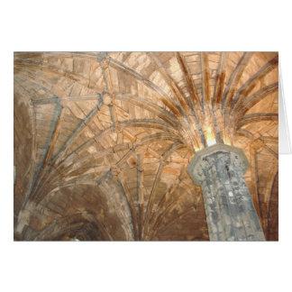 Catedral Escocia de Elgin Tarjeta Pequeña