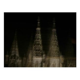 Catedral fantasmal tarjetas postales