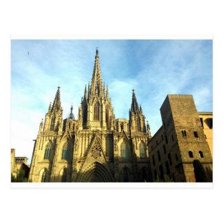 Catedral gótica Barcelona, Barri Gotic Tarjetas Postales