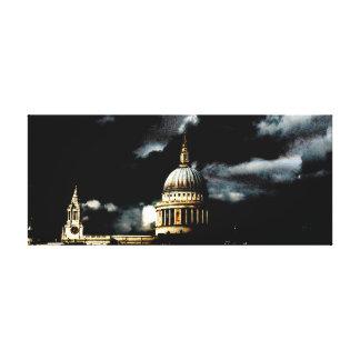 Catedral Londres del St Pauls Impresion De Lienzo