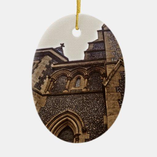 Catedral Londres, Inglaterra de Southwark Ornaments Para Arbol De Navidad