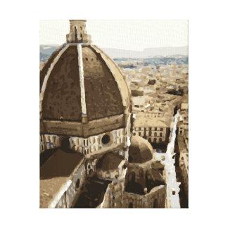 Catedral magnífica del renacimiento en Venecia Impresión En Lienzo Estirada