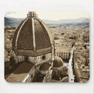 Catedral magnífica del renacimiento en Venecia Mouse Pads