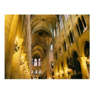 Catedral magnífica tarjetas postales
