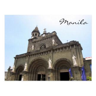 catedral Manila Postal