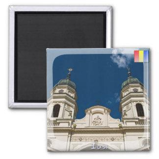 Catedral metropolitana imán cuadrado