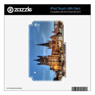 Catedral Notre Dame de Lausanne, Suiza, HDR iPod Touch 4G Calcomanías