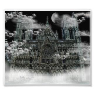 Catedral nublada impresiones fotograficas