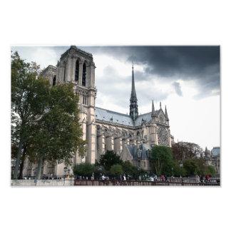 Catedral París de Notre Dame Fotografías
