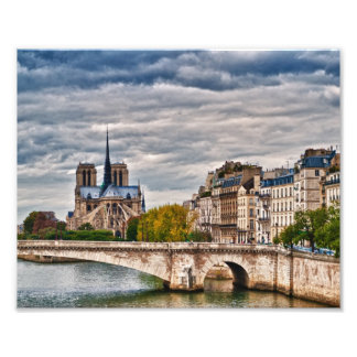 Catedral París de Notre Dame Arte Fotográfico
