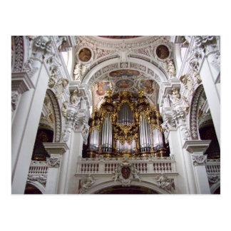 Catedral Passau Alemania del St. Stephan Postal
