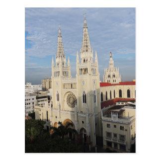 Catedral por la mañana - Guayaquil - Ecuador Tarjetas Postales