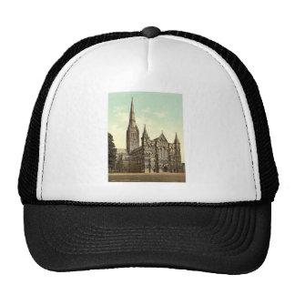 Catedral, Salisbury, Inglaterra Photochrom raro Gorra