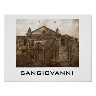 catedral, SANGIOVANNI Poster