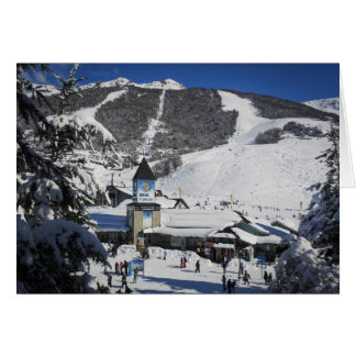 Catedral Ski Resort, Bariloche Argentina Card