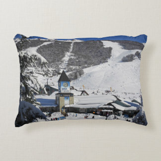 Catedral Ski Resort, Bariloche Argentina Decorative Pillow