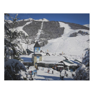Catedral Ski Resort, Bariloche Argentina Panel Wall Art