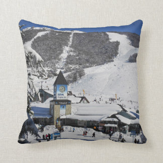 Catedral Ski Resort, Bariloche Argentina Throw Pillow