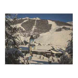 Catedral Ski Resort, Bariloche Argentina Wood Wall Art