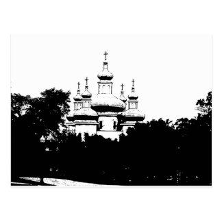 catedral tarjeta postal