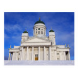 Catedral Tuomiokirkko de Helsinki en postal del in